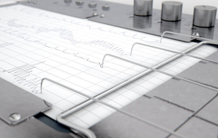 תהליך הבדיקה במכונת פוליגרף